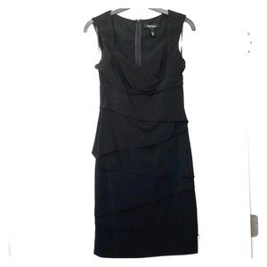 Slimming little black dress